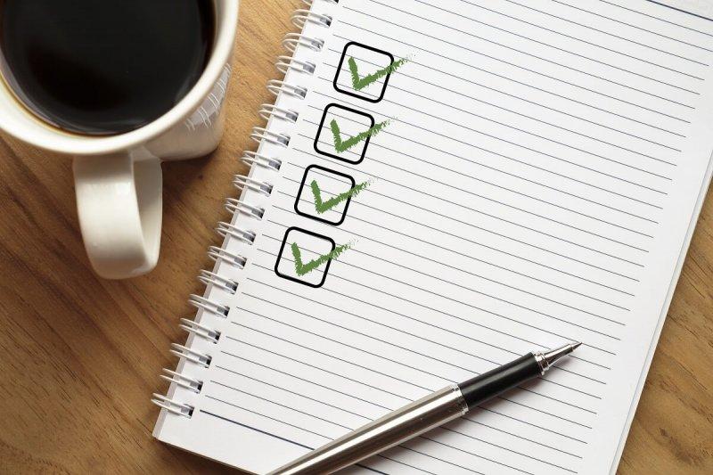 Air conditioning contractor checklist